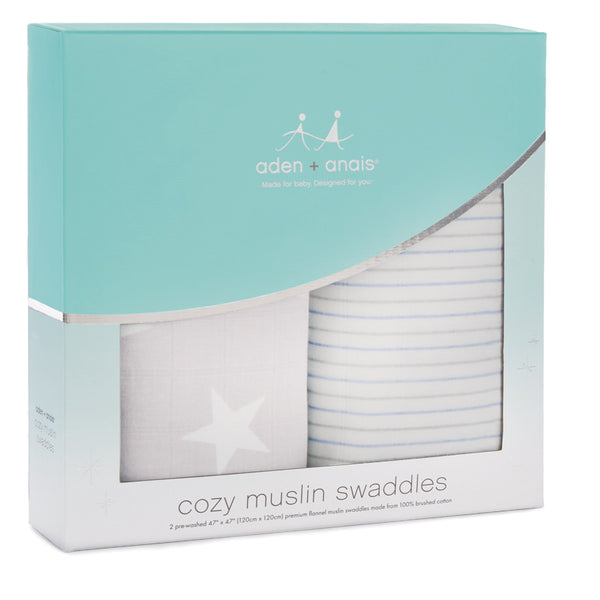 Cosy Muslin Swaddle - Fate