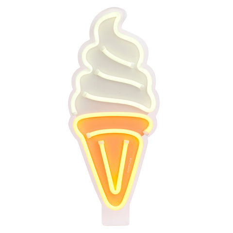 Neon LED Light Soft Serve