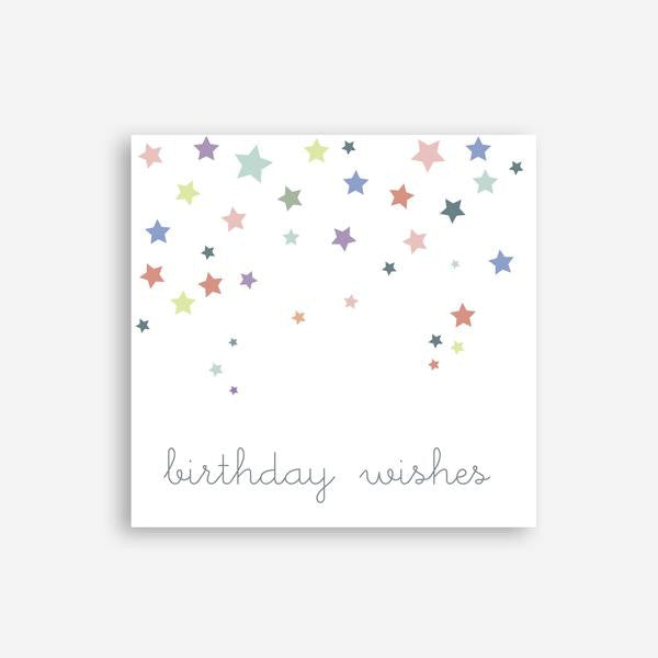 Greeting Card - Birthday Wishes