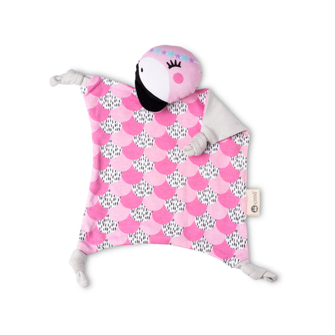 Kippins Organic Cotton Cuddle Blanket - Coco Kippin