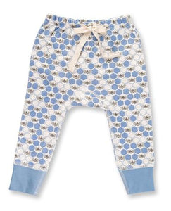 Cornflower Blue Bees Pants
