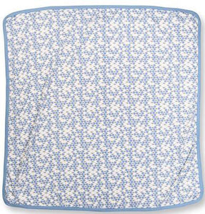 Cornflower Blue Bees Snuggle Wrap