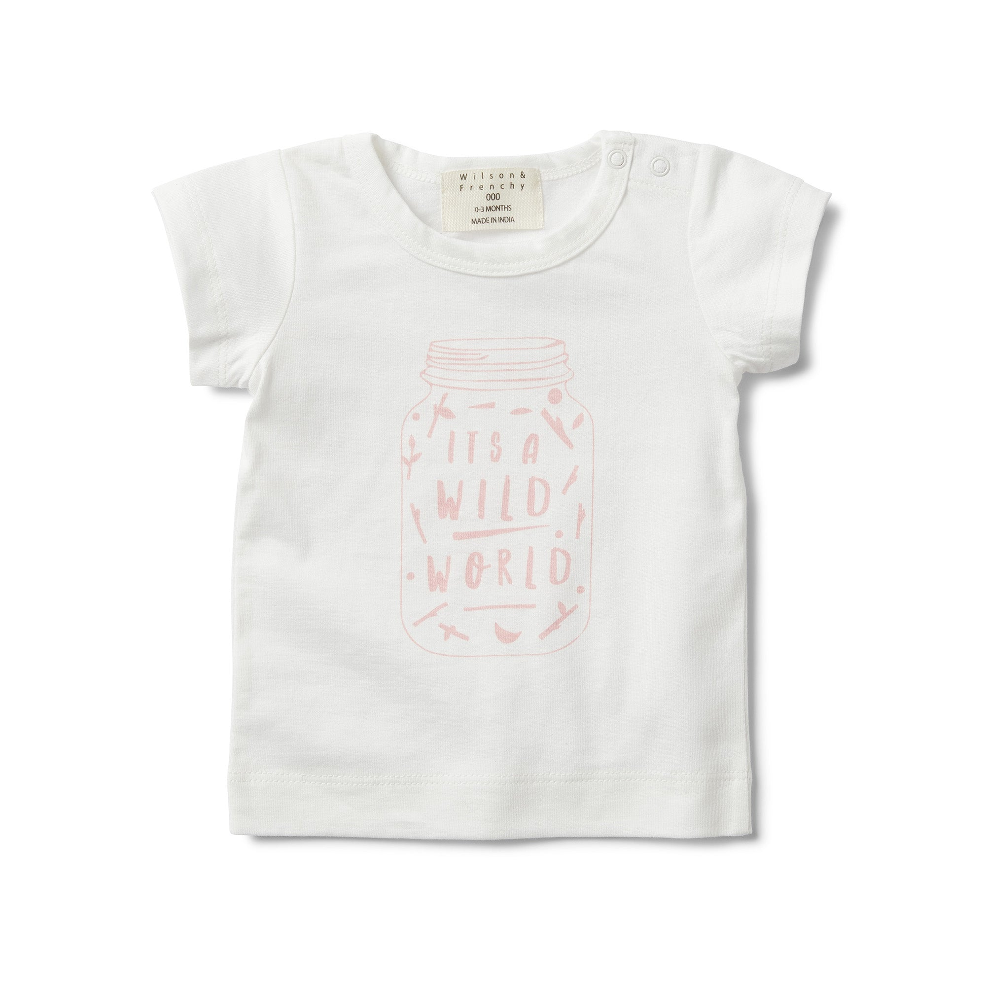 Short Sleeve T-shirt - It's A Wild World