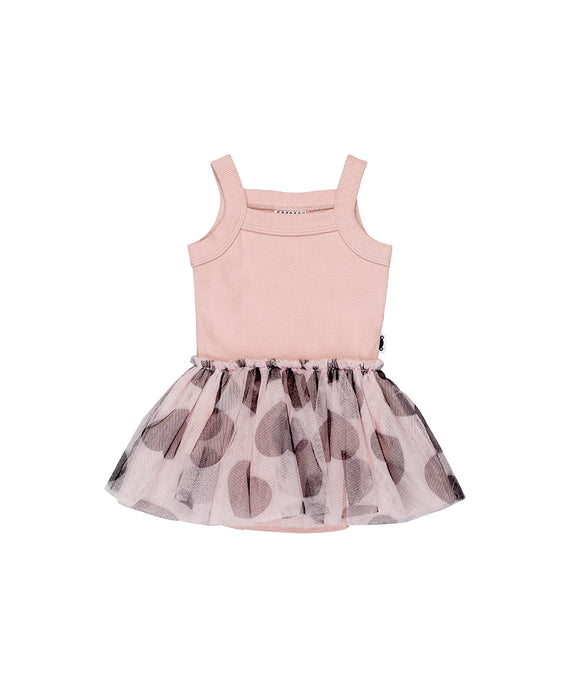 Summer Ballet Onesie - Rose Dust