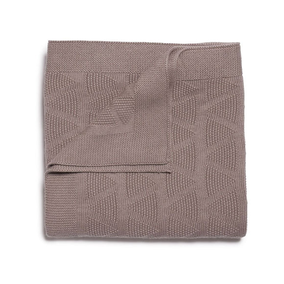 Knitted Blanket - Smoke Grey