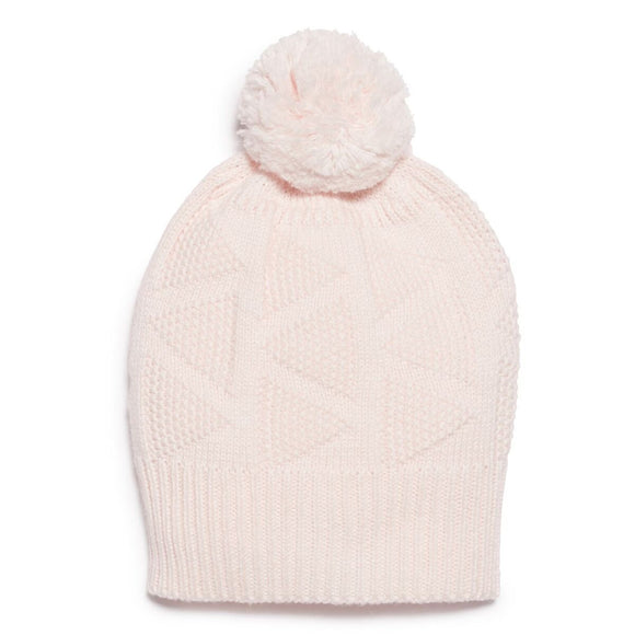 Knitted Hat - Marshmallow