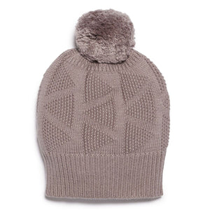 Knitted Hat - Smoke Grey
