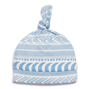Knot Hat - Moon Aztec