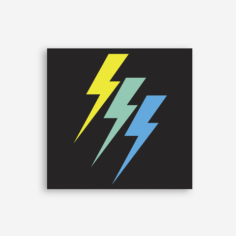 Greeting Card - Lightning