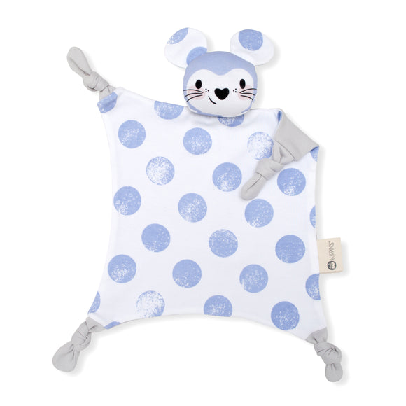 Kippins Organic Cotton Cuddle Blanket - Luna Kippin