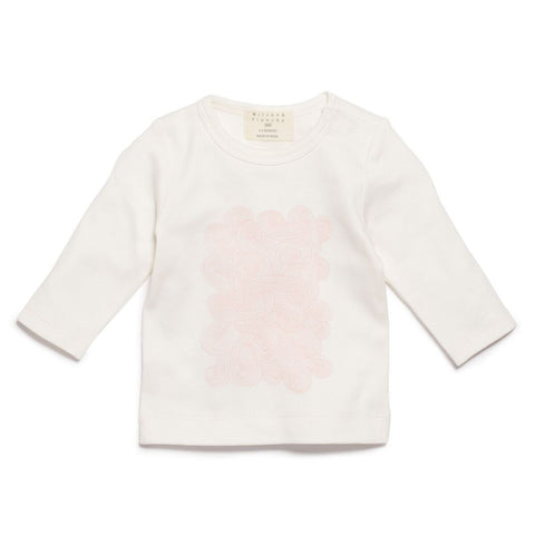 Long Sleeve Top - Pink Storm