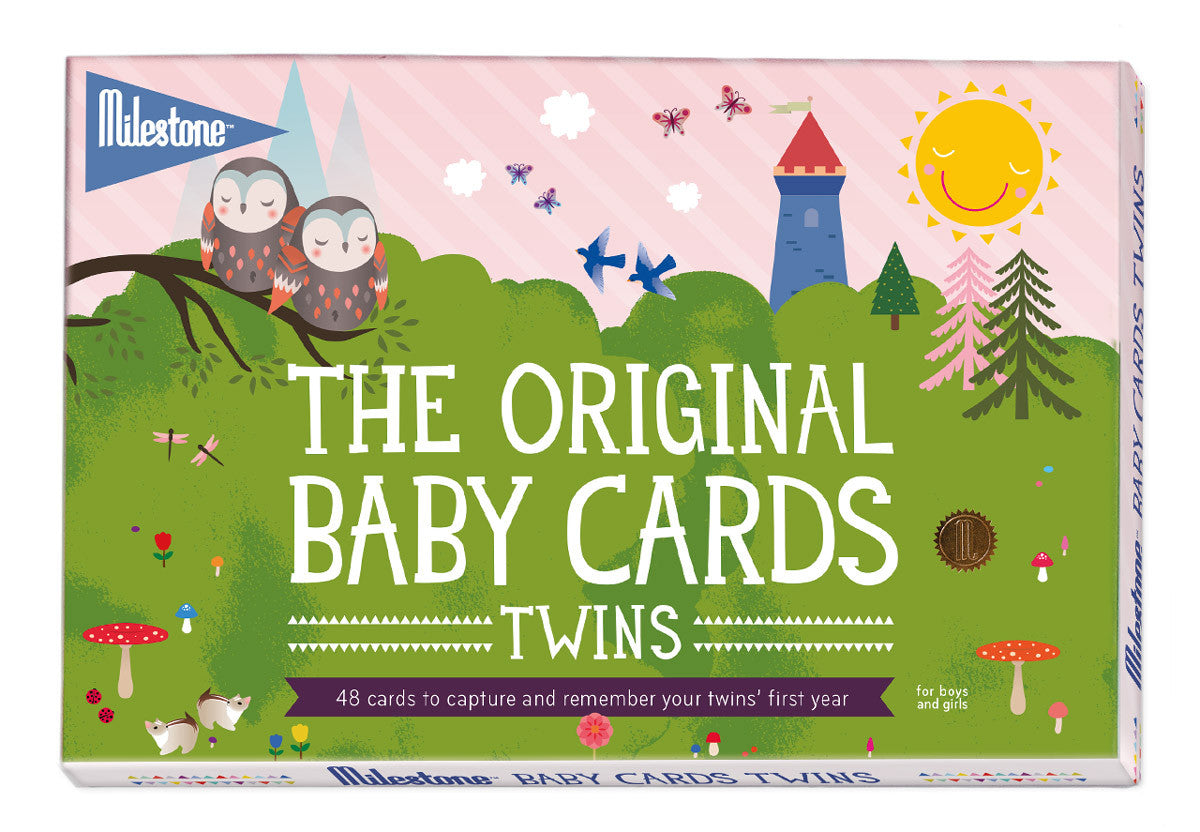 Twin Milestone Cards