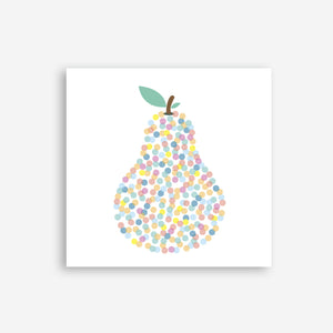 Greeting Card -Pear
