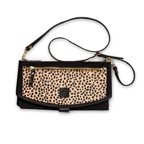 Roundabout Change Clutch - DELUXE Animal Print