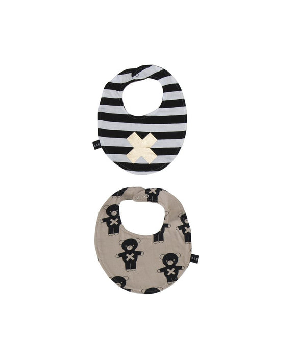 Soldier Bears / Cross Reversible Bib