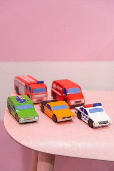 Mini Wooden Cars