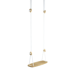 Lillagunga Swing - Oak with White Ropes