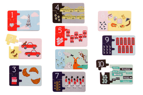 * PRE ORDER * Counting Wooden Jigsaw