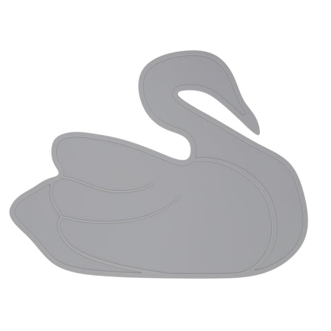 Swan Placemat - Grey