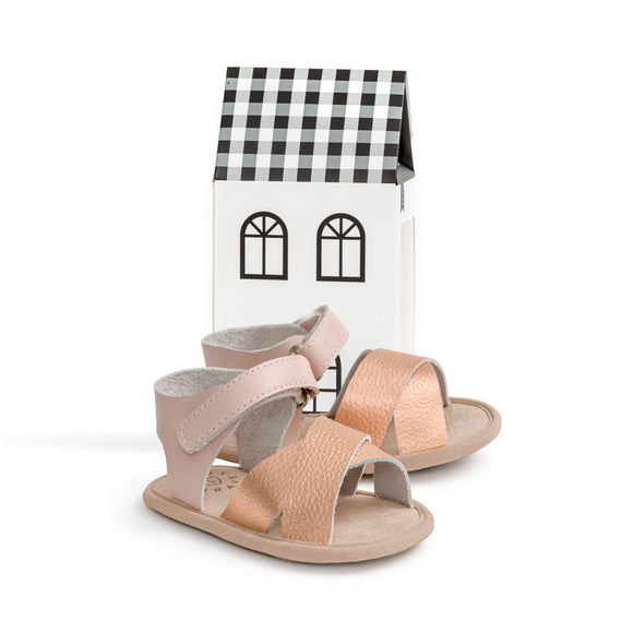 SANDAL - Valencia - Rose Gold