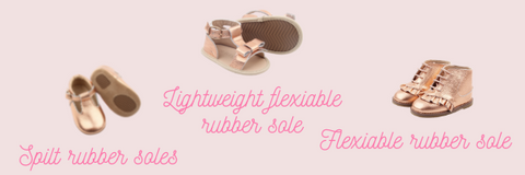 baby, toddler & kids - which soles should they wear?