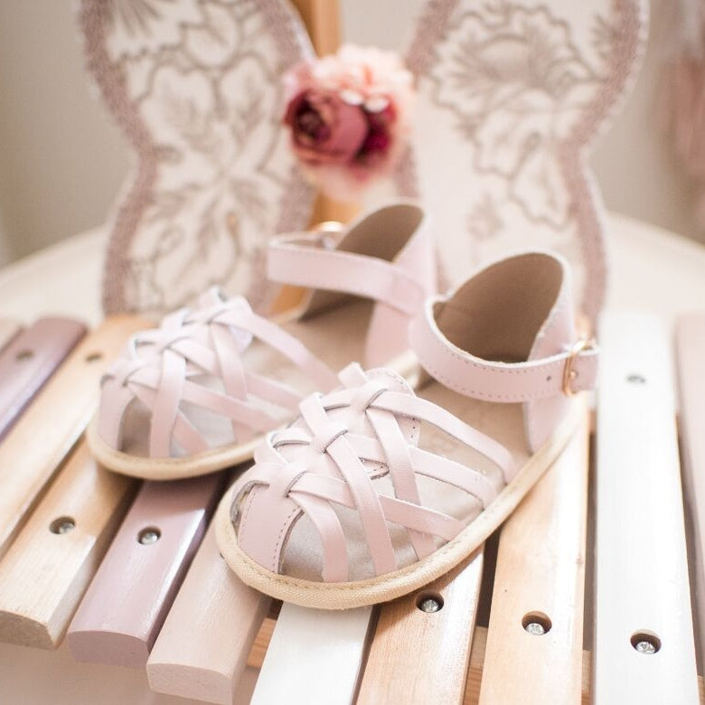 Eleanor Soft Sole Sandal Rose Quartz