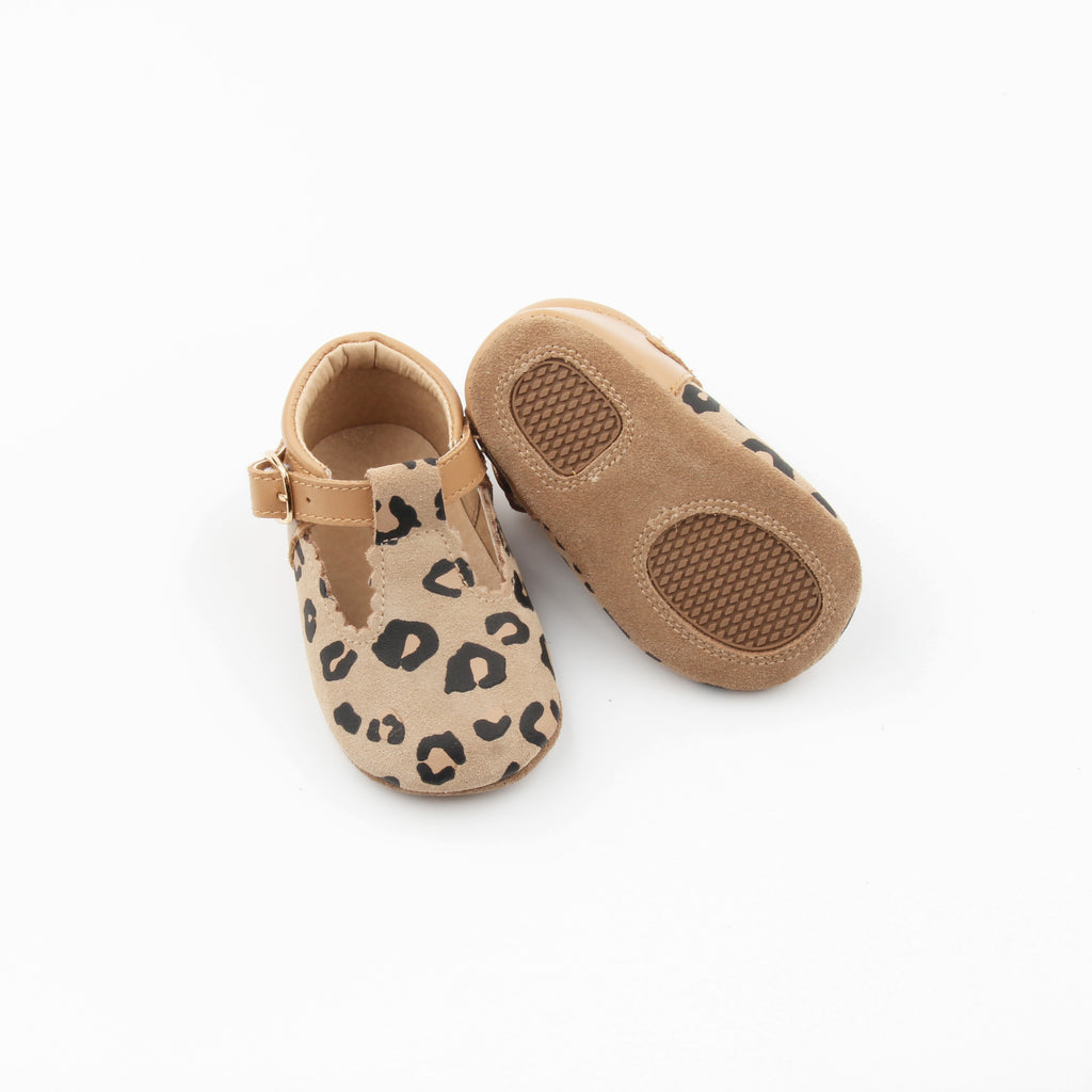 Leopard toddler t-bar at Sadie Baby