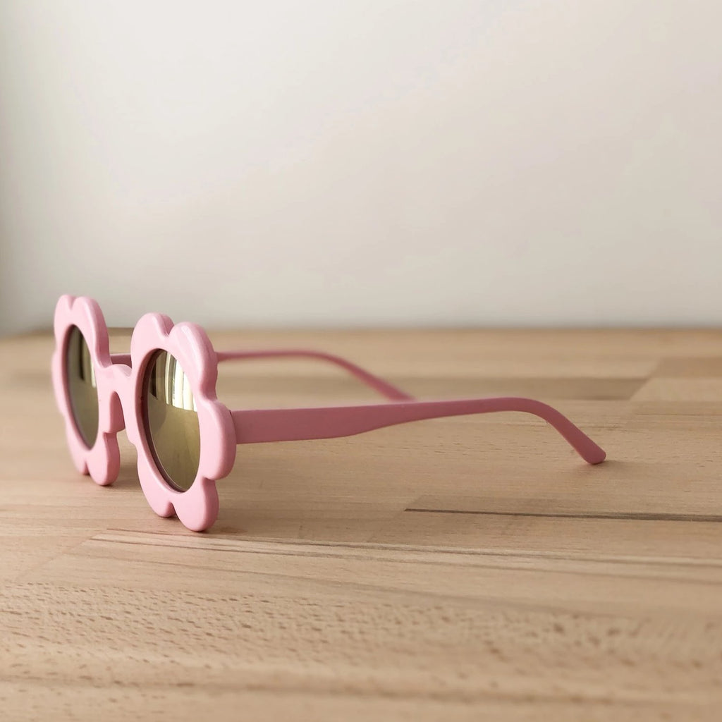 Baby pink reflective flower sunglasses - Toddlers & Kids - Sadie Baby