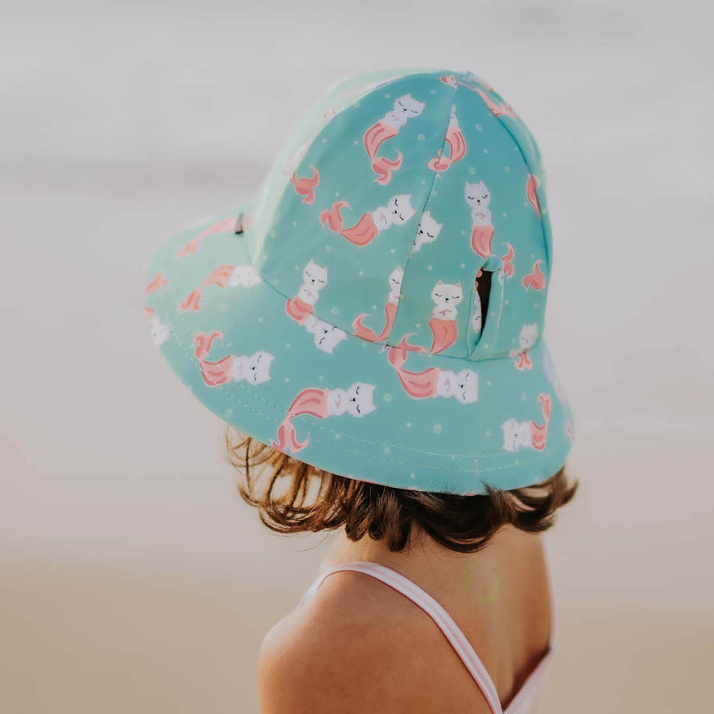 GIRLS BEACH HAT - MERKITTY