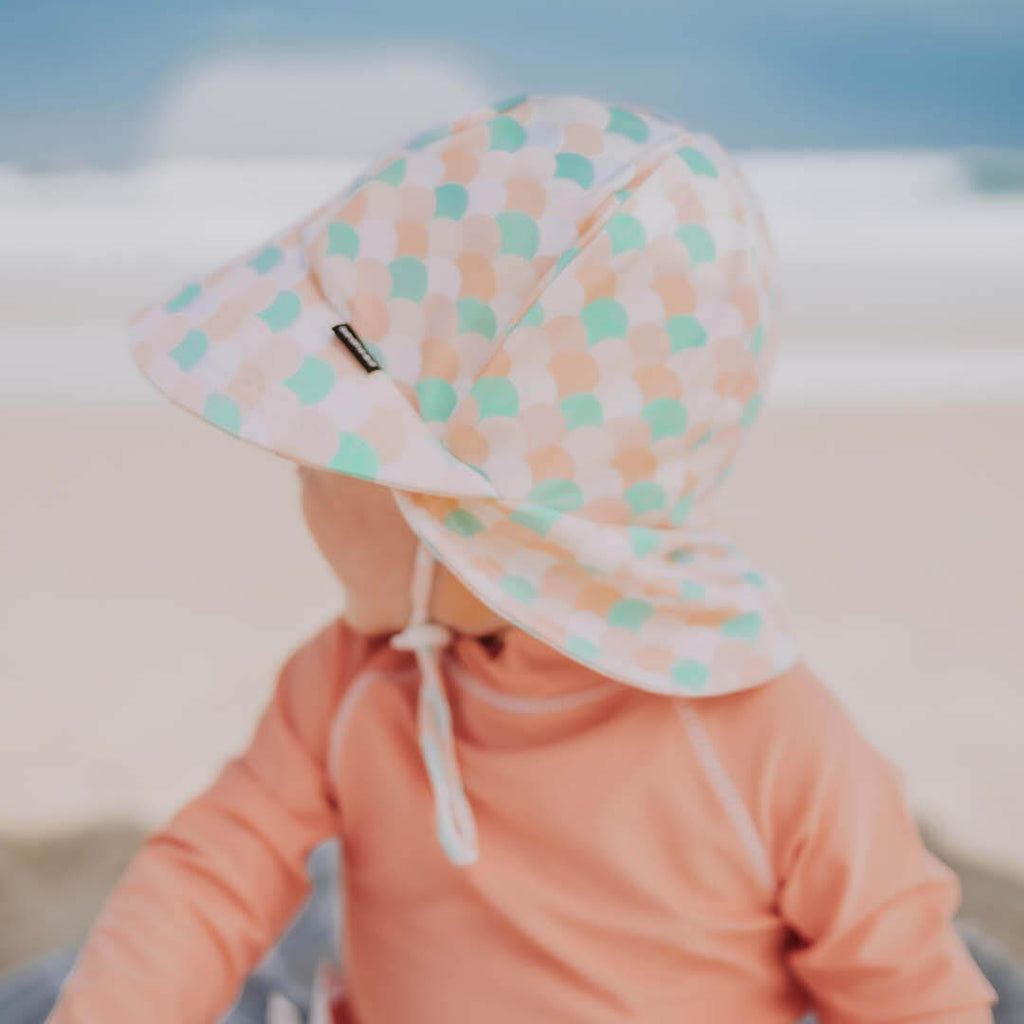 GIRLS BEACH LEGIONNAIRE HAT - ARIEL