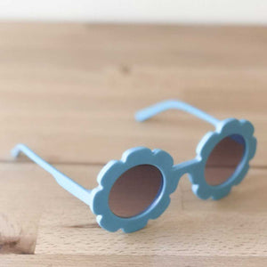Little Flower Blue Sunglasses - Sadie Baby