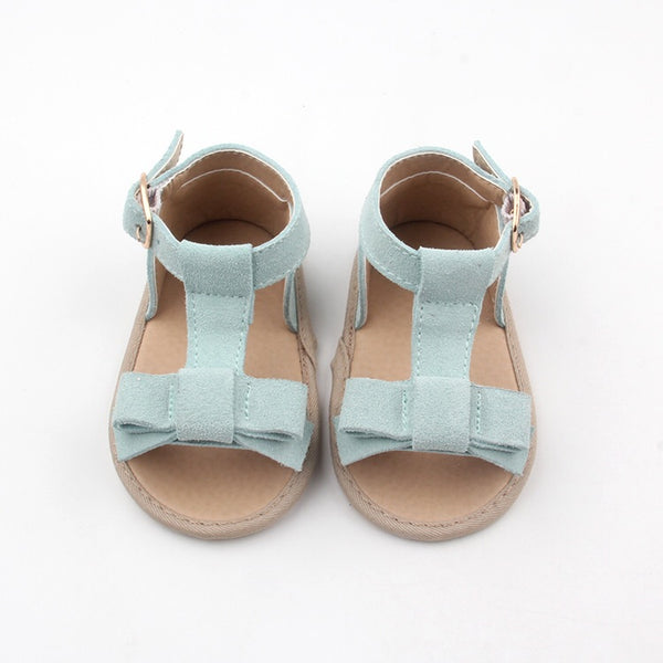 Maggie Sandal in sky blue (soft sole)
