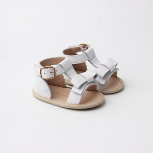 Maggie Soft Sole White Sandal
