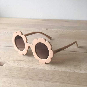 Little Flower Sunglasses Beige | Girls Accessories | Sadie Baby