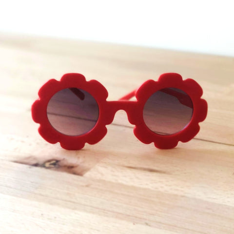 Little Flower Sunglasses Red
