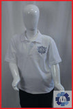 White PE Polo for Nishkam Primary