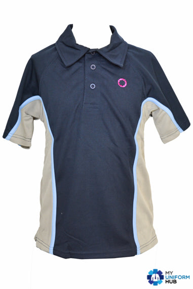 PE Polo Navy Blue, For Eden Boys Perry Barr School Birmingham