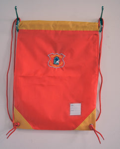 PE Bag with Logo for Lambs Christian School