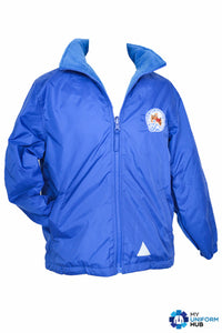 Blue Outer Reversible Jacket for St Marys Primary