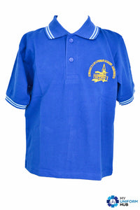 Blue Polo for St Michaels CofE Primary Academy Handsworth