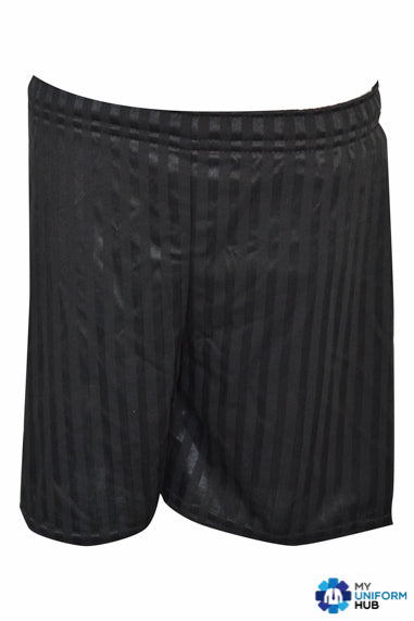 Black PE Shorts for Nishkam High