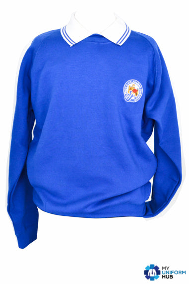 Blue SweatShirt for Boys for St Marys Primary