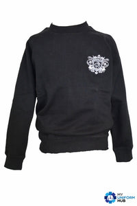 Black PE Sweatshirt for Nishkam Primary