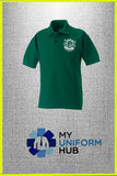 Green Contentment Polo for Nishkam High