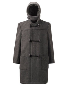 Grey Duffle Outer Coat For Lambs Christian School