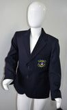 Navy Blazer with Logo for Lambs Christian School