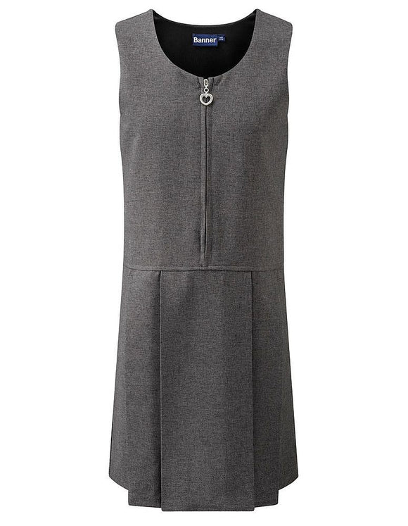 Grey Pinafore for Nishkam Primary Girls, James Watt and other schools