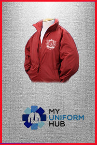 Red Outer Reversible Jacket for Nishkam Primary
