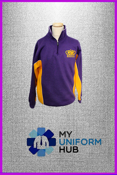 Purple and Yellow Rugby Top King Solomon High School