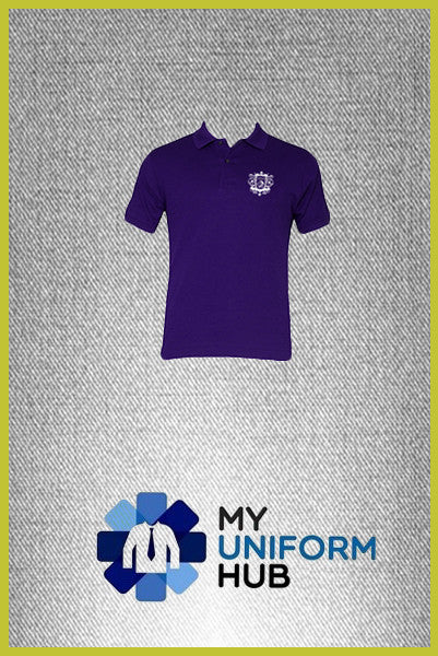 Purple Love Polo for Nishkam High